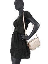 Shoulder Bag Manhattan Liu jo Gold manhattan NF0092-vue-porte