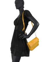 Shoulder Bag Svale Leather Pieces Green svale 17107569-vue-porte