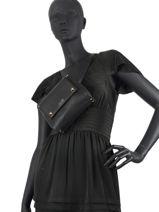 Shoulder Bag Famo Liu jo Black famo NF0056-vue-porte