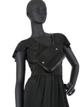Fanny Pack And Strap Miniprix Black bart MD8103-vue-porte