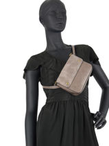 Fanny Pack And Strap Miniprix Brown bart MD8103-vue-porte