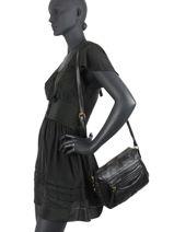 Crossbody Bag Blanche Leather Miniprix Black blanche MD8062-vue-porte