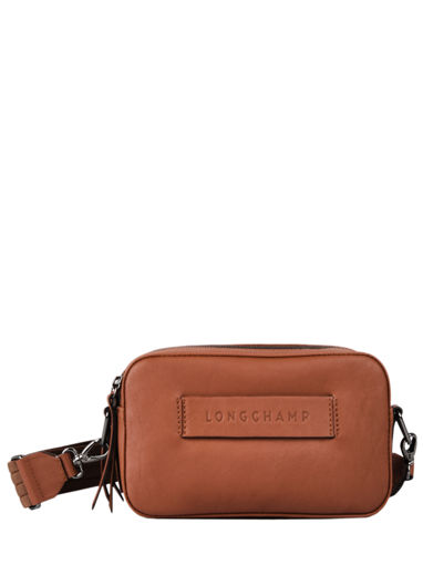 Longchamp Longchamp 3d zip Messenger bag Black