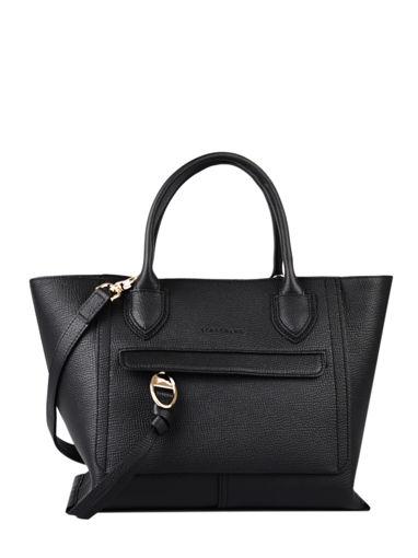 Longchamp Mailbox Sacs porté main Noir