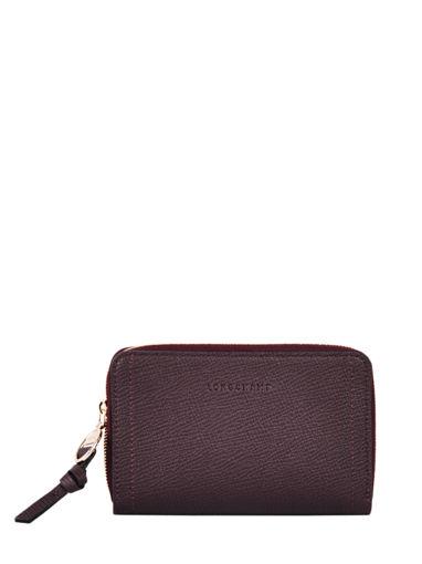 Longchamp Mailbox Wallet Red