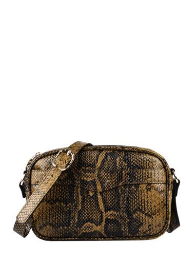 Longchamp Longchamp 1980 python Messenger bag Black