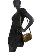 Longchamp Longchamp 1980 python Messenger bag Black-vue-porte