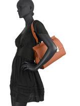 Top Handle Ecuyer Leather Etrier Beige ecuyer EECU03-vue-porte