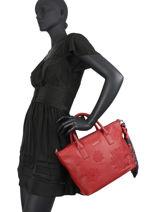 Shopping Bag Alexandra Desigual Red alexandra 20WAXPC4-vue-porte