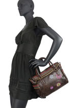 Shopping Bag Astoria Desigual Brown astoria 20WAXPDH-vue-porte