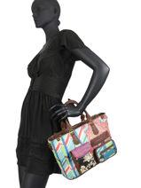 Shopping Bag Bruselas Desigual Multicolor bruselas 20WAXPDI-vue-porte