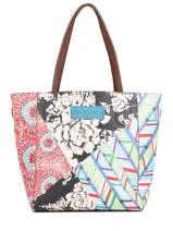 Hobo Bag Bruselas Desigual Multicolor bruselas 20WAXPDJ