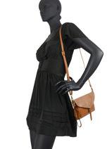 Crossbody Bag Bart Leather Miniprix Brown bart MD8104-vue-porte