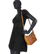 Shoulder Bag Lululove Desigual Brown lululove 20WAXP54-vue-porte