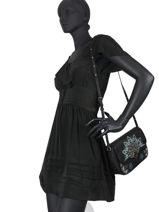 Crossbody Bag Devos Amorgos  Desigual Black devos amorgos 20WAXP30-vue-porte