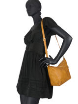 Shoulder Bag Martini Leather Desigual Yellow martini 20WAXP43-vue-porte