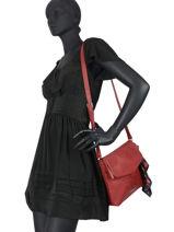 Crossbody Bag Alexandra  Desigual Red alexandra 20WAXPDC-vue-porte