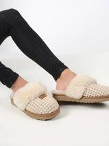 Cozy slippers -UGG-vue-porte