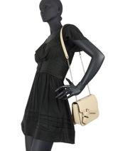 Leather Crossbody Bag Adele Lancel adele A10755-vue-porte
