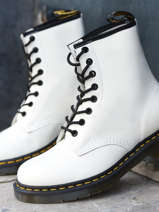1460 boots smooth leather-DR MARTENS