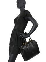 Top Handle Bella Leather Gianni chiarini Black bella BS7981-vue-porte