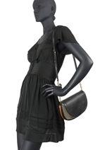 Crossbody Bag Diana Wool Gianni chiarini Black diana BS7945-vue-porte