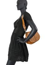 Crossbody Bag Helena Round Leather Gianni chiarini Brown helena round BS8216-vue-porte