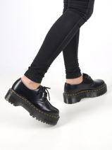 1461 platform shoes in leather-DR MARTENS-vue-porte