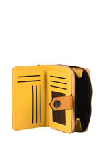 Porte Monnaie Porte Cartes Miniprix Yellow losange 78SM1008-vue-porte