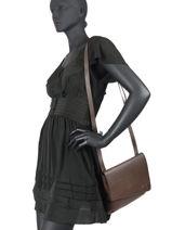 Leather Crossbody Bag N City Ascot Nathan baume Brown n city 17-vue-porte