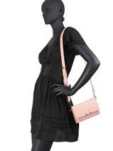 Shoulder Bag Th Saffiano Tommy hilfiger Pink th saffiano AW08534-vue-porte