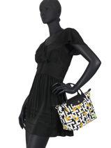 Longchamp Le pliage collection pokemon Handbag White-vue-porte