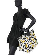 Longchamp Le pliage coll pokemon Travel bag White-vue-porte