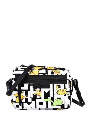 Longchamp Le pliage collection pokemon Messenger bag White