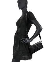 Sac Bandouliere Stephi Guess Noir stephi CM787570-vue-porte