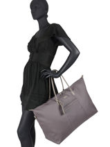 Travel Bag Serena Hexagona Violet serena 586426-vue-porte