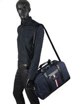 Travel Bag Th Nylon Tommy hilfiger Blue th nylon AM06258-vue-porte