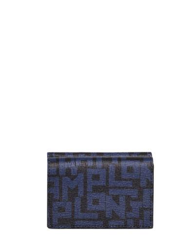 Longchamp Le pliage lgp Portefeuilles Bleu