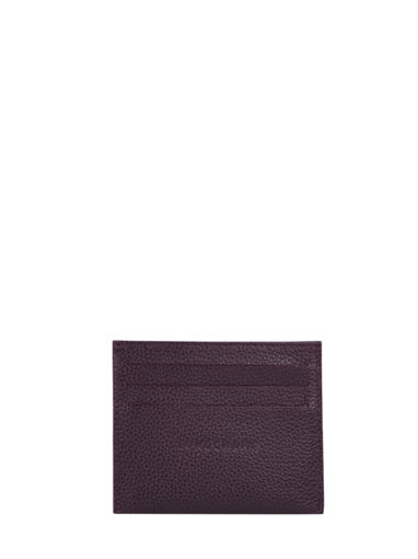 Longchamp Bill case / card case Violet