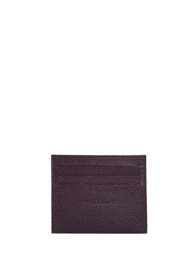 Longchamp Porte billets/cartes Violet