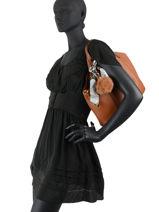 Shoulder Bag Fur Miniprix Black fur DQ8585-vue-porte