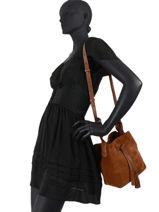 Crossbody Bag Folk Leather Gerard darel folk G407-vue-porte