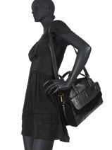 Shoulder Bag Svale Leather Pieces Black svale 17107574-vue-porte