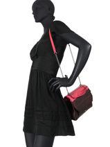 Medium Shoulder Bag Ninon Leather Lancel ninon A09234-vue-porte