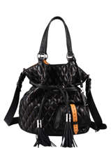 Quilted Leather Premier Flirt Bucket Bag Lancel Black premier flirt A11139