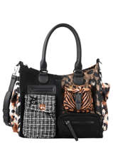 Sac Shopping New 1968 Desigual Noir new 1968 20WAXAB8