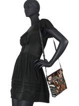 Shoulder Bag New 1968 Desigual Black new 1968 20WAXAB9-vue-porte