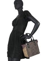 Shopping Bag Dark Phoenix Desigual Brown dark phoeni 20WAXPDE-vue-porte