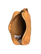 Leather Chester Coin Purse Biba Yellow accessoires KA6-vue-porte