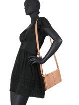 Leather Nashville Crossbody Bag Biba Brown nashville NAR1L-vue-porte
